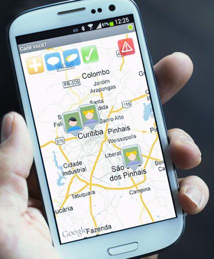 Cadê Você?, o aplicativo de rastreamento pessoal da CEABS