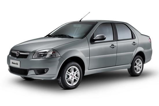 A versão mais básica do Fiat Siena obteve 1,433% no índice