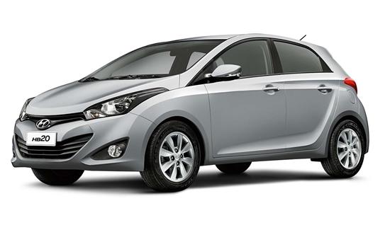 O Hyundai HB20 alcançou média de 1,348% no índice