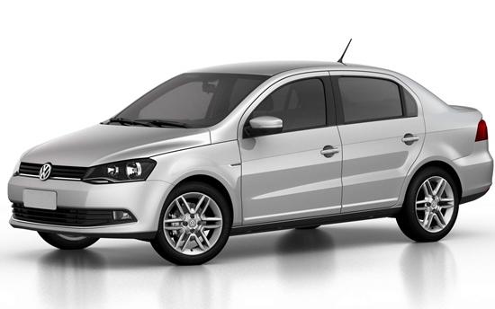 O Volkswagen Voyage acumulou 1,719% no índice de roubo ou furto