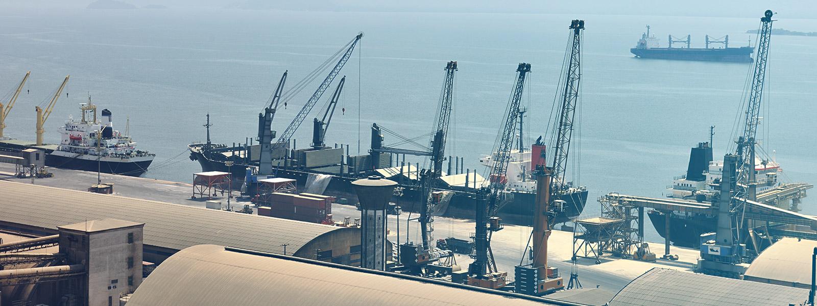 Novo scanner de cargas no Porto de Paranaguá