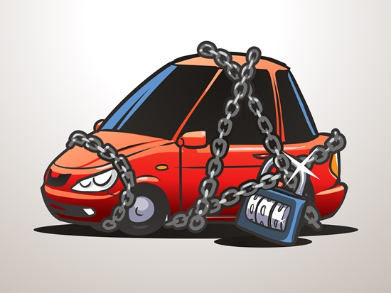 Cidades com os maiores índices de roubos de carros