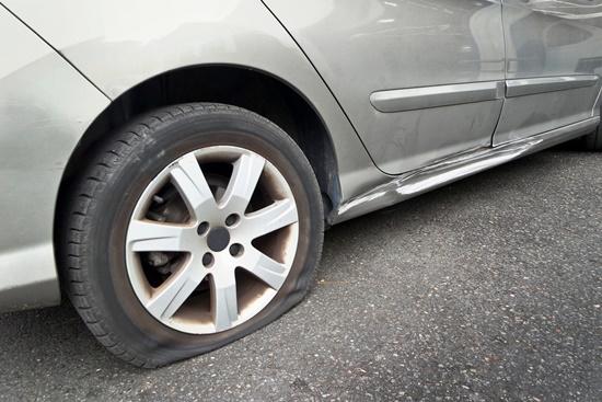 O perigo das bolhas nos pneus