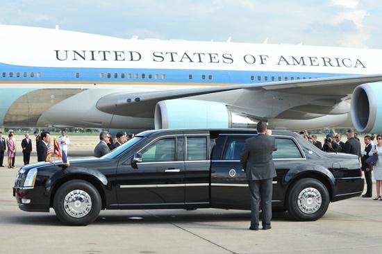 Os carros dos presidentes