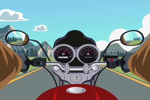 Viagem de moto com segurança