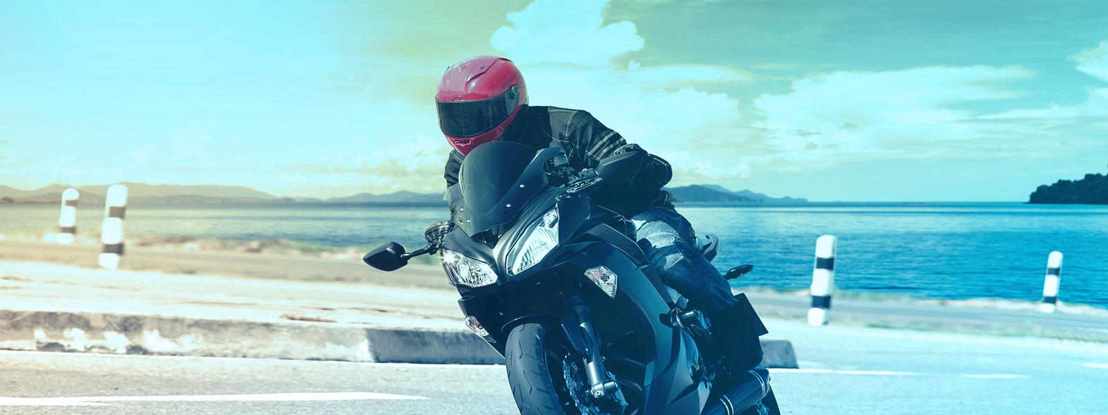 Conheça os equipamentos de segurança para motociclistas