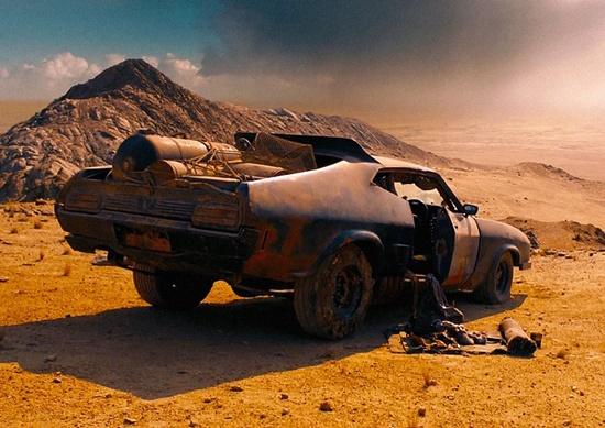 Cena do filme Mad Max.