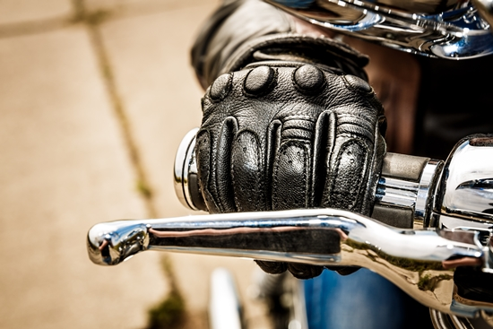 Luvas para motociclistas